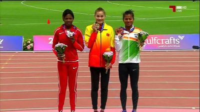 Quách Thị Lan xuất sắc 'lên đỉnh' 400m rào giải vô địch châu Á