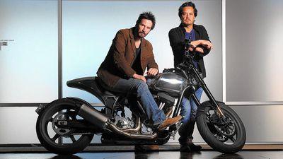 Bên trong lò độ xe môtô của tài tử Keanu Reeves