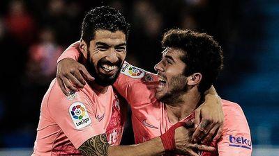 Highlights La Liga: Alaves 0-2 Barcelona