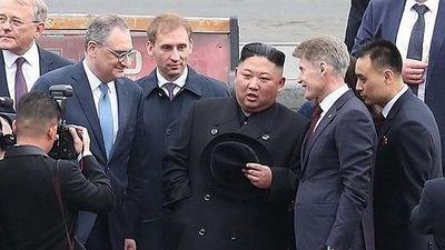 Chủ tịch Kim Jong-un được chào đón nồng nhiệt ở Nga