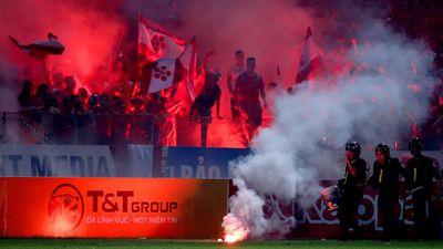 'Pháo sáng đã làm xấu hình ảnh bóng đá Hải Phòng'