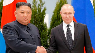 Cuộc gặp thượng đỉnh Putin-Kim đầu tiên qua ảnh