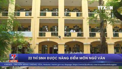 22 thí sinh ở Hòa Bình được nâng điểm môn ngữ văn