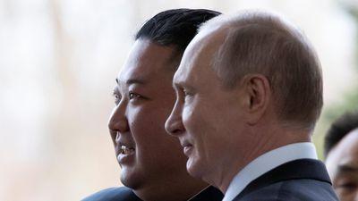 Cuộc gặp mặt đầu tiên của ông Kim và ông Putin ở Vladivostok