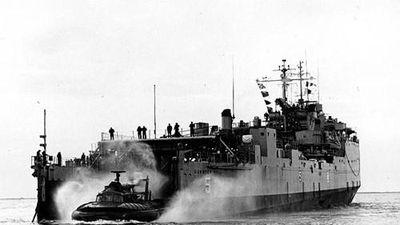 Ngạc nhiên tàu khí đệm độc nhất trong Chiến tranh Việt Nam