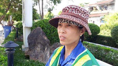 Nhắc nhở việc xả rác, chị lao công bị hành hung