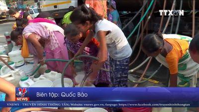 Khủng hoảng nước nghiêm trọng tại Ấn Độ