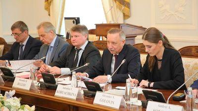 Quyền Thống đốc Saint Petersburg tiếp đón Thủ tướng Nguyễn Xuân Phúc