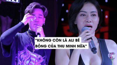Ali Hoàng Dương bật khóc vì câu nói này của Thu Minh