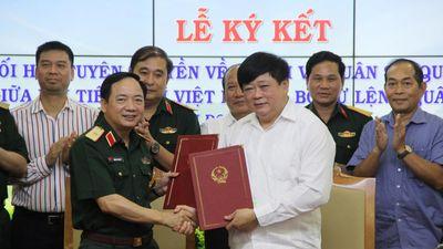 Đài Tiếng nói Việt Nam hợp tác tuyên truyền nhiệm vụ quân sự, quốc phòng với Bộ Tư lệnh Quân khu 2