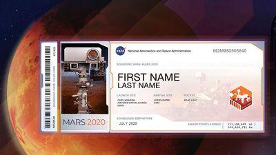 Cơ hội gửi tên mình lên Sao Hỏa vào năm 2020 với NASA