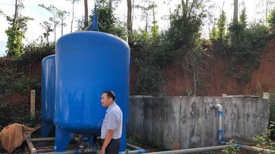Nhà máy cung cấp nước sạch hàng tỷ đồng bị đắp chiếu ở Đắk Nông
