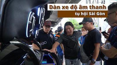 'Rửa tai' với dàn xe độ âm thanh tụ hội Sài Gòn