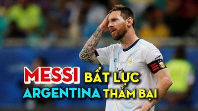 Messi bất lực, Argentina thảm bại trước Colombia