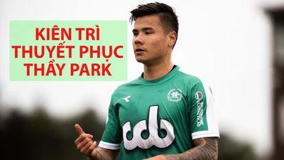 Tiền đạo Việt Kiều Alexander Đặng vừa ghi điểm với HLV Park Hang-seo