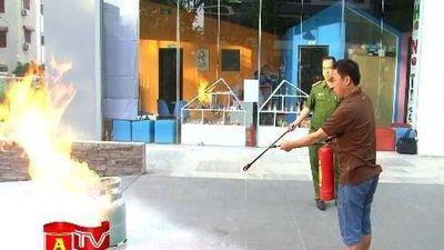 Khi cư dân chung cư vẫn thờ ơ với tập huấn phòng chống cháy nổ