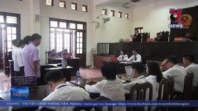 Tòa tuyên án bị cáo Trương Quý Dương giữ nguyên mức án phạt
