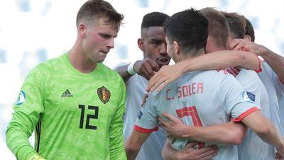 Bàn thắng phút 89 giúp U21 Tây Ban Nha hạ gục Bỉ