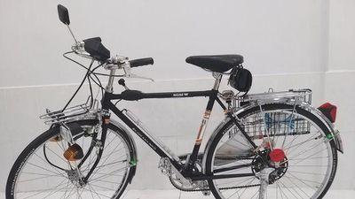 CLIP: Cận cảnh chiếc xe đạp 'cổ' có giá trăm triệu ở TPHCM