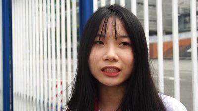 Clip: Thí sinh Hà Nội đánh giá đề thi Ngữ văn dễ đạt điểm cao