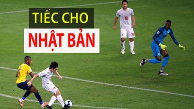 Nhật Bản bị từ chối bàn thắng, cùng dắt tay Ecuador về nước