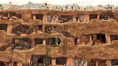 Khám phá thành phố nghìn năm tuổi sâu 18 tầng dưới lòng đất Thổ Nhĩ Kỹ