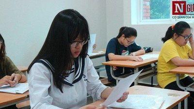 18 thí sinh bị đình chỉ thi trong ngày thi thứ hai kỳ thi THPT Quốc gia 2019