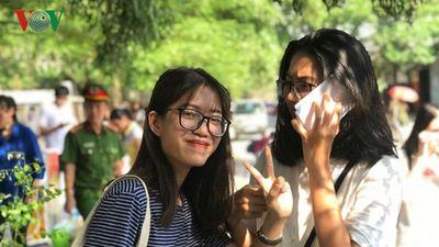 Thí sinh Hà Nội tự tin đạt 8-9 điểm môn Tiếng Anh kỳ thi THPT Quốc gia