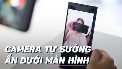OPPO ra mắt smartphone đầu tiên có camera dưới màn hình