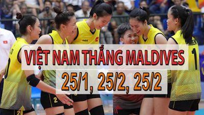 Bóng chuyền nữ Việt Nam có chiến thắng hiếm thấy ở giải U.23 châu Á
