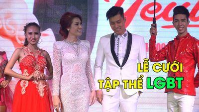 Lâm Khánh Chi tổ chức đám cưới tập thể cho 10 đôi LGBT
