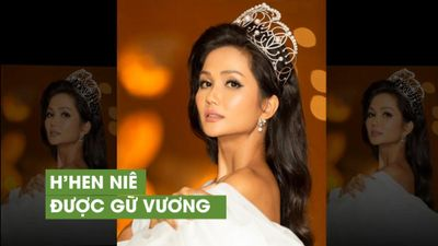 H'Hen Niê được tặng vương miện 2,7 tỷ đồng sau sự cố làm gãy vương miện phiên bản khác