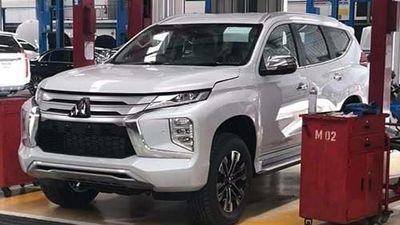 Mitsubishi Pajero Sport 2020 mới 'lộ hàng' trước ngày ra mắt