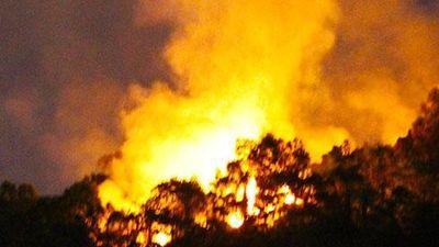 Rừng Đà Nẵng cháy lớn trong đêm, hàng trăm người nỗ lực dập lửa