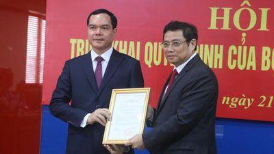 Bộ Chính trị chỉ định ông Nguyễn Đình Khang giữ chức Bí thư Đảng đoàn Tổng LĐLĐ Việt Nam
