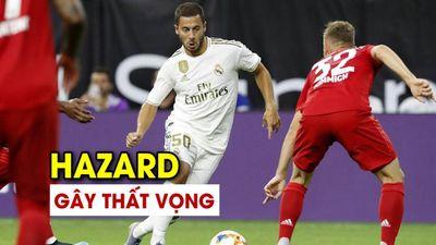 Hazard gây thất vọng, Real Madrid thua thảm Bayern Munich 1-3