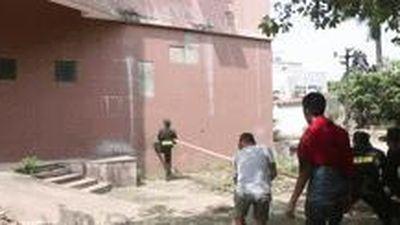 Đông đảo cảnh sát cơ động trèo tường quay cảnh nguy hiểm ở 'Mê cung'