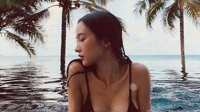 Jun Vũ đẹp tinh khôi trong bộ ảnh chụp ở biển