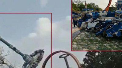 Đu quay khổng lồ ở công viên gặp nạn: Thêm cảnh báo cho người thích cảm giác mạnh