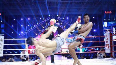Hàn Phi Long giành chiến thắng trước 'Vua Muay Thái'
