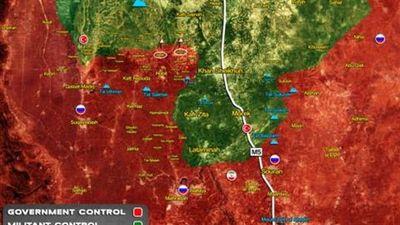Quân Assad đánh thẳng vào trái tim miền nam Idlib