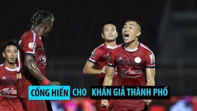 HLV Chung thú nhận: 'Chưa từng đặt mục tiêu vô địch với TP.HCM'