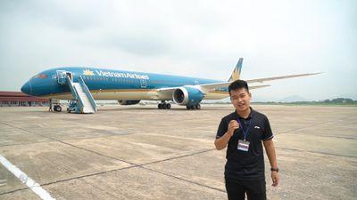 Trải nghiệm nhanh Boeing 787-10 Dreamliner đầu tiên tại Việt Nam
