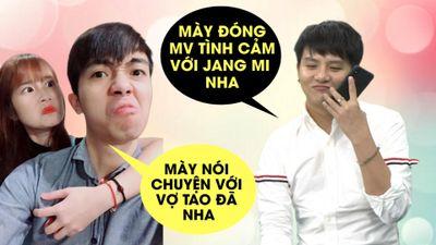 Thánh sợ vợ Cris Devil tá hỏa khi Duy Khánh gọi điện nhờ đóng MV với Jang Mi