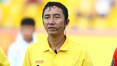 4 trọng tài bị đình chỉ làm nhiệm vụ hết mùa V.League
