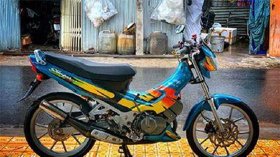 Xe máy Suzuki Stinger 120 'hàng hiếm' hơn 100 triệu đồng