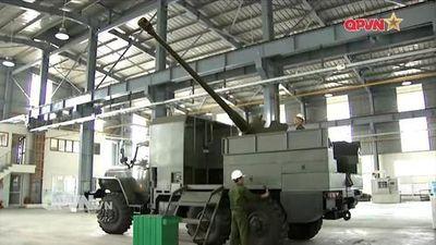 Tuyệt vời! Việt Nam tự nâng cấp D-44 85mm thành pháo tự hành