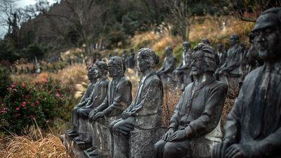 Vườn điêu khắc trị giá 60 triệu USD bí ẩn tại Nhật Bản