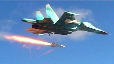 Không quân Nga giáng đòn hủy diệt khủng bố IS ở Đông Syria
