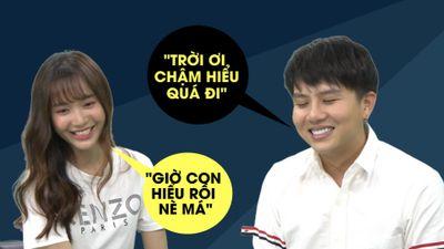 Duy Khánh chê Jang Mi chậm hiểu: 'Chuyện từ ban ngày mà tối về nhà mới cười'